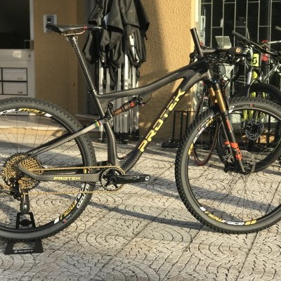 Bicicleta Suspensão total Protek 29 FS Carbon