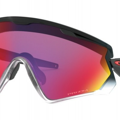OCULOS OAKLEY Wind Jacket 2.0 Black Fade w/Prizm Road