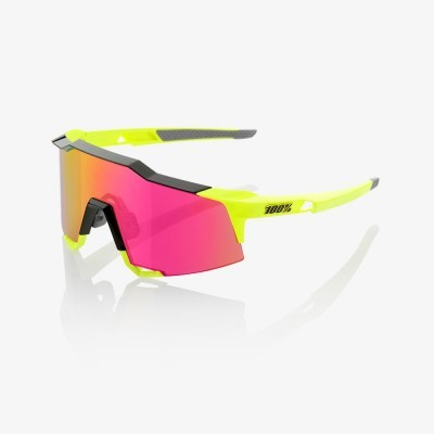 OCULOS 100% SPEEDCRAFT BLACK/FLUO YELLOW