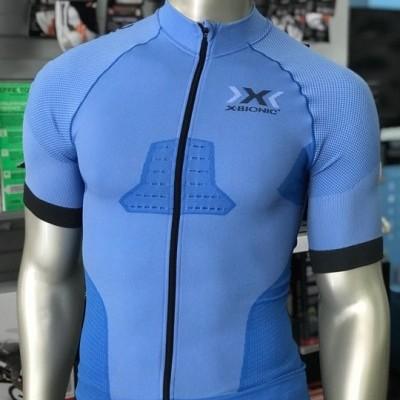 Jersey X-Bionic Race EVO Biking Shirt - Azul