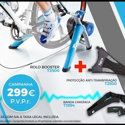 Rolo Treino Tacx BOOSTER T2500HT