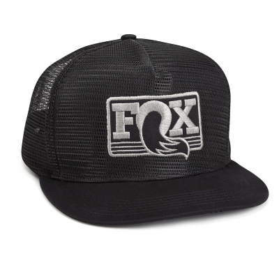 FOX BONÉ FOX MESHED UP BLACK/GREY O/S