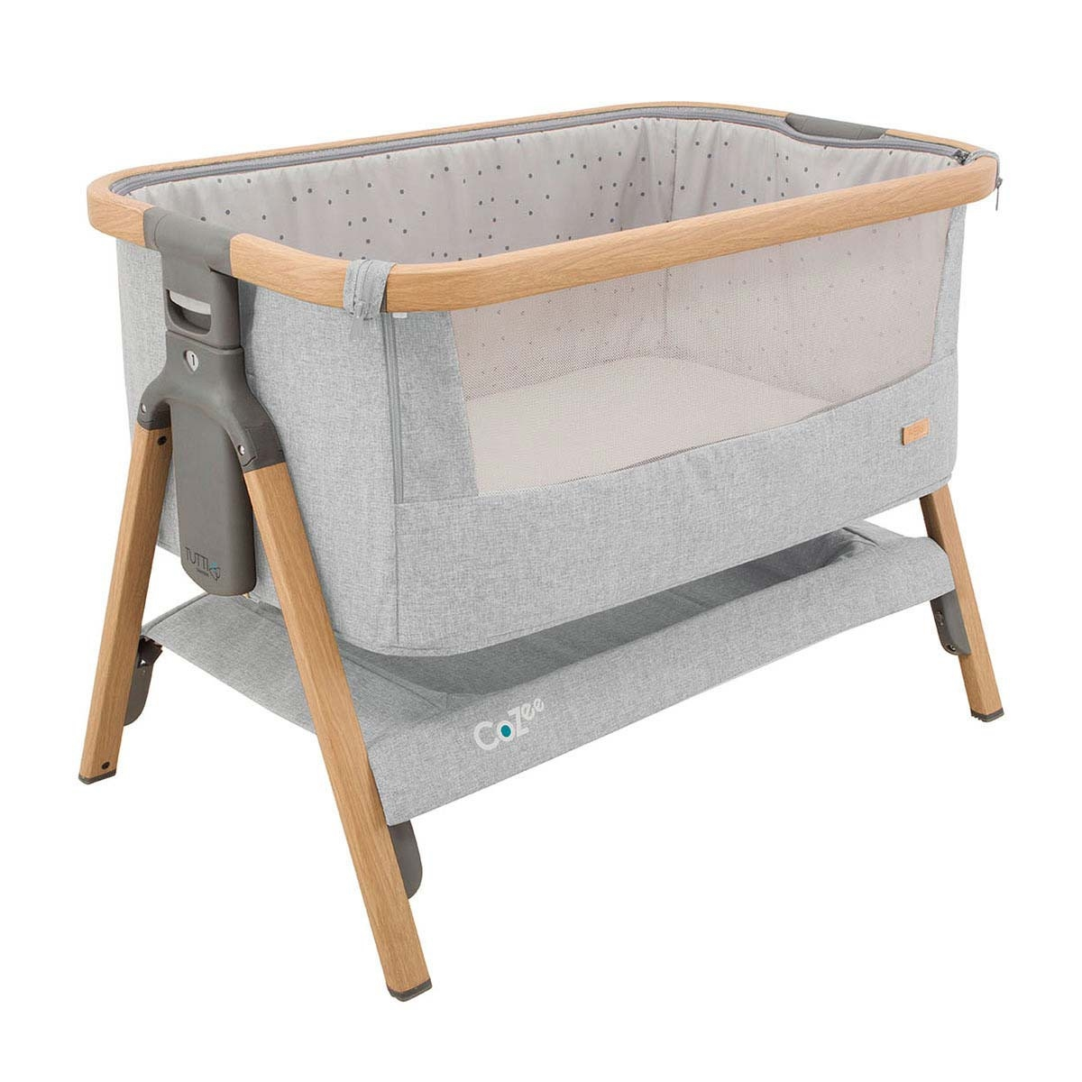 Ber 231 O De Viagem Tutti Bambini Cozee Bedside Crib Dente