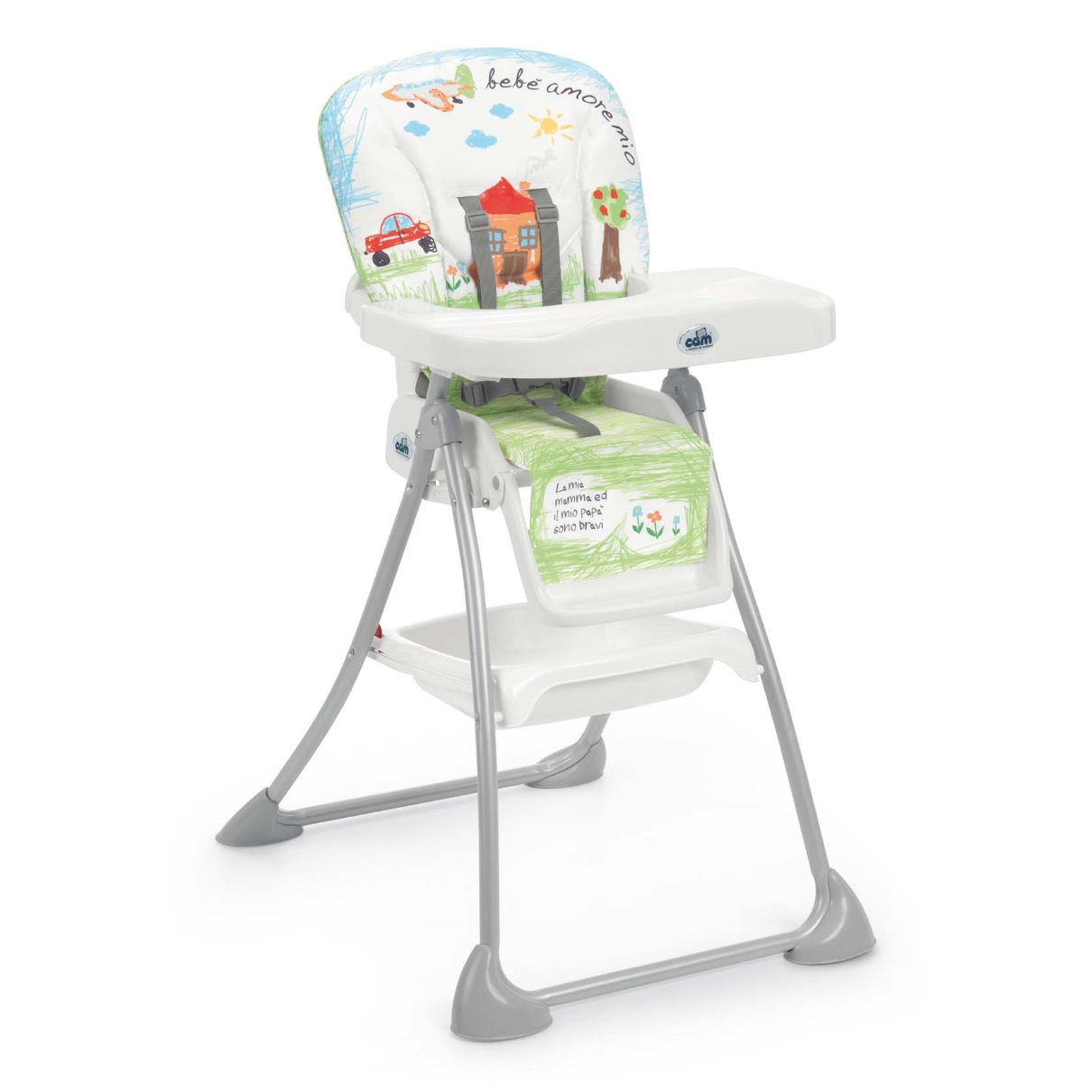 Cadeira de refeição CAM Mini Plus High Chair