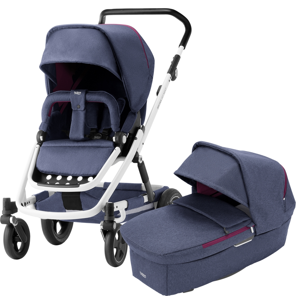 Carro e alcofa Britax Go Next Bundle