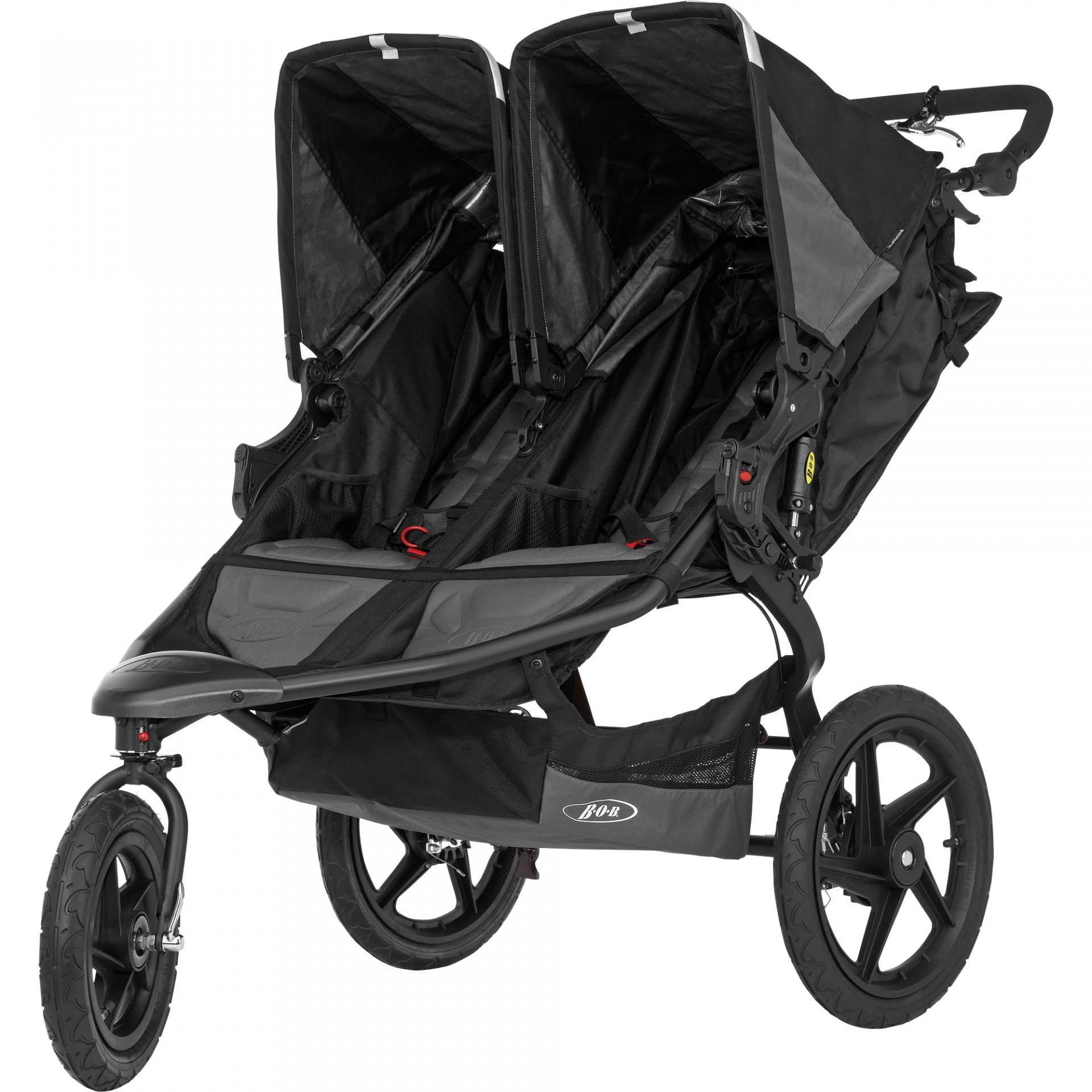 Carro Gémeos/2 crianças Britax Bob Revolution Pro Duallie Twins Stroller