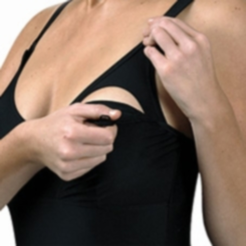 Fato de banho de aleitamento Carriwell Nursing Swimsuit