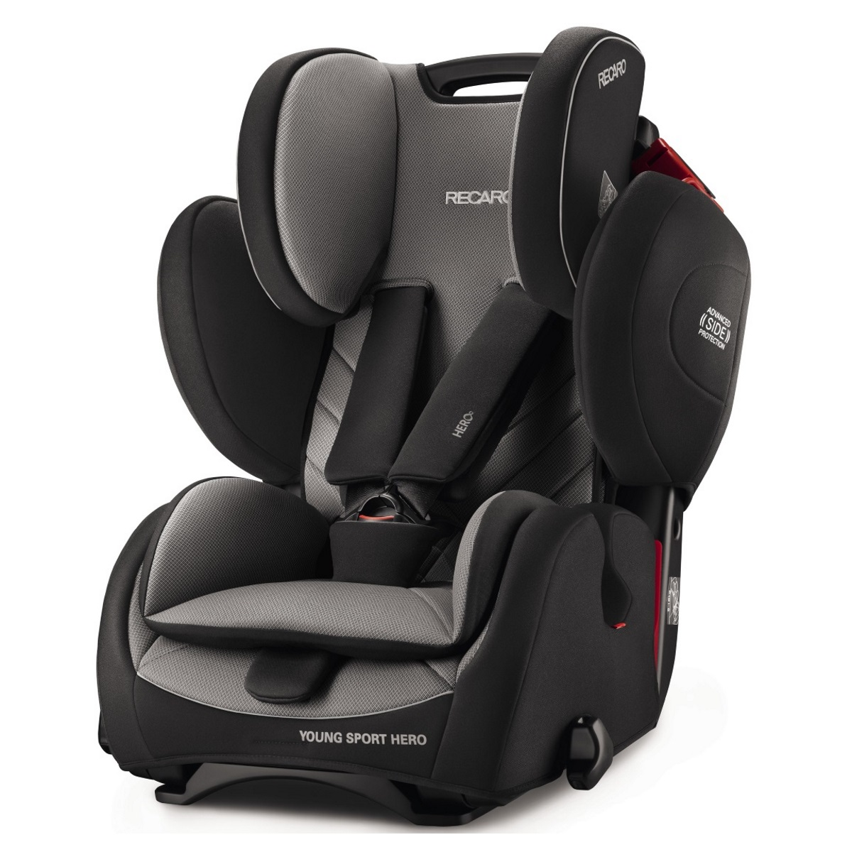 cadeira auto recaro young sport hero car seat dente de leite. Black Bedroom Furniture Sets. Home Design Ideas
