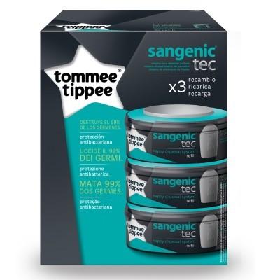 Recargas Tommee Tippee Sangenic Tec Refill Cassetes