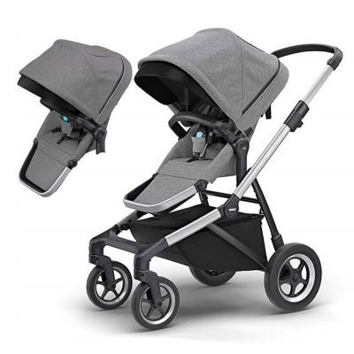 Carro gémeos/2 crianças Thule Sleek Double Baby Stroller