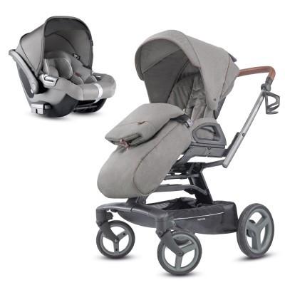 Conjunto duo carro bebé e cadeira auto Inglesina Quad + Inglesina Darwin i-Size