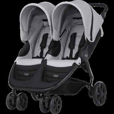 Carro gémeos/2 crianças Britax B-Agile Double Twins Stroller