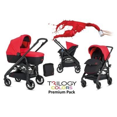 Conjunto trio Inglesina Trilogy Colors Premium Pack Travel System