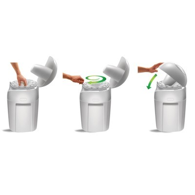 Contentor fraldas Sangenic Tec Nappy Disposal System