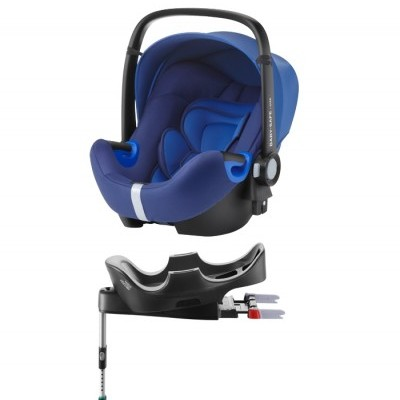 Pack cadeira auto e base flex Britax Römer Baby Safe2 i-Size Car Seat and Flex Base