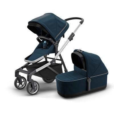 Carro bebé e alcofa Thule Sleek Baby Stroller and Bassinet
