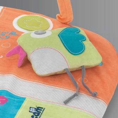 Parque com tapete atividades CAM Brevettato Millegiochi Piccolo Mouse Playard