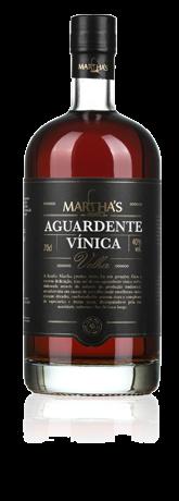Martha`s Aguardente Vínica Velha