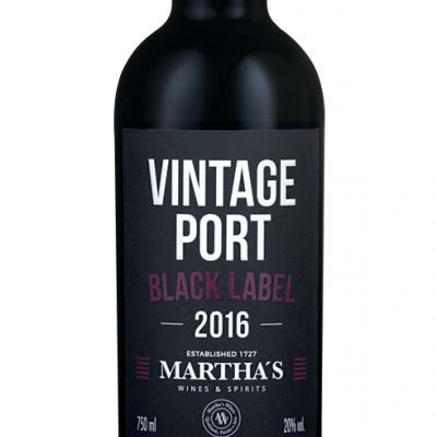 Martha's BLACK LABEL - Vintage Port 2016