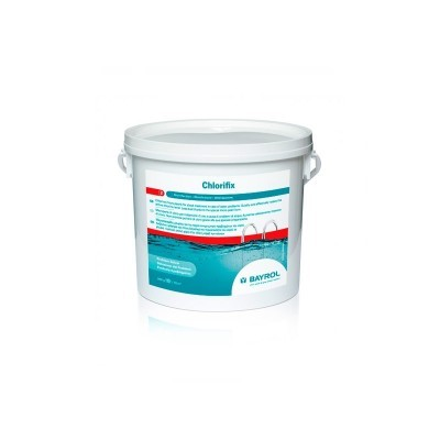 Chlorifix BAYROL 5 KG (Cloro granulado )