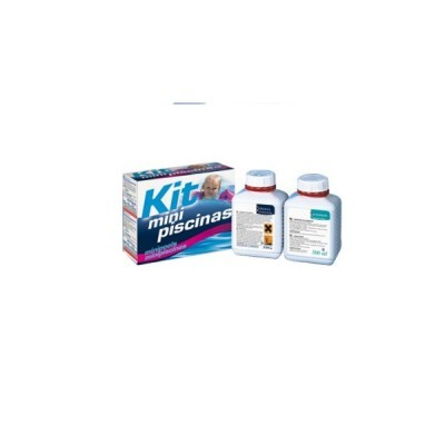 Kit Mini Piscinas - ECOPOOL (Cloro e Antialgas)