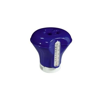 Doseador flutuante para tabletes c/ termómetro