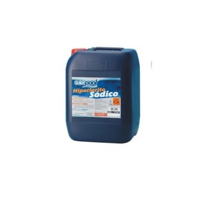Hipoclorito de Sódio Líquido 25 KG - ECOPOOL
