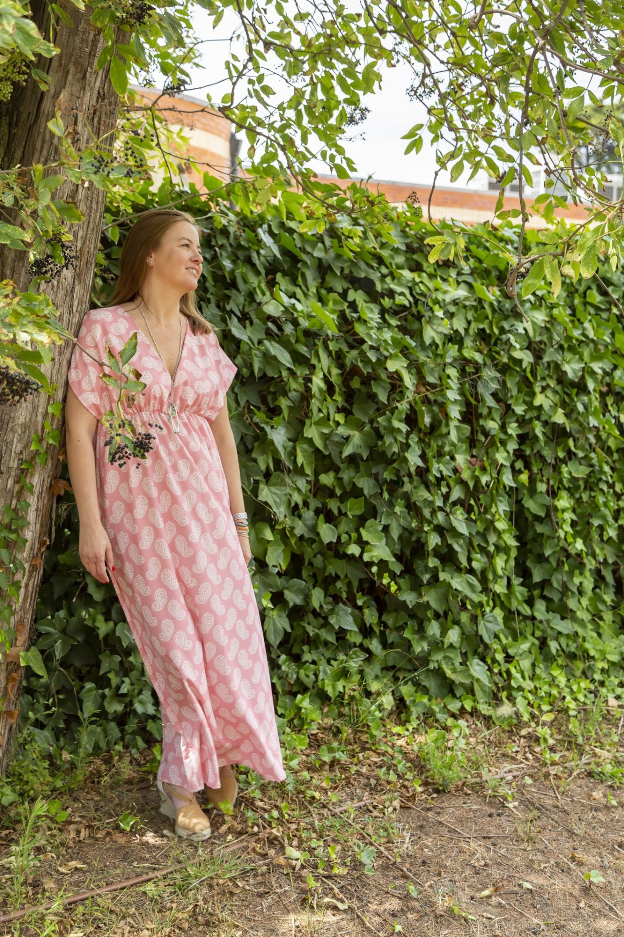 Vestido/ Dress Goa rosa/Light pink