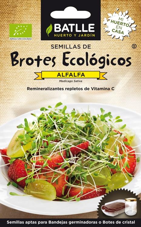 Bio Rebentos Alfalfa / Luzerna