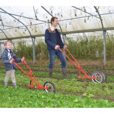 Enxada para crianças com 1 roda