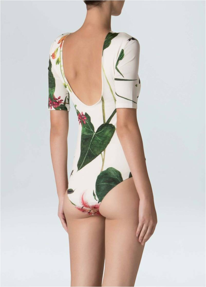 BODY FLORAL EVE OSKLEN