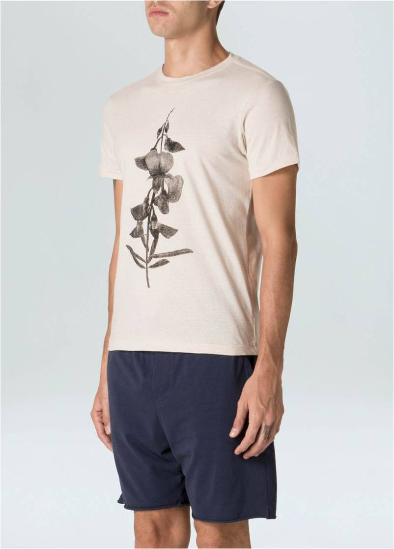 T-Shirt Canhamo Orchid
