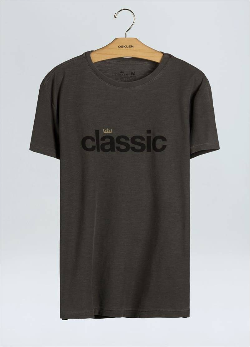 T-SHIRT ROUGH CLASSIC OSKLEN