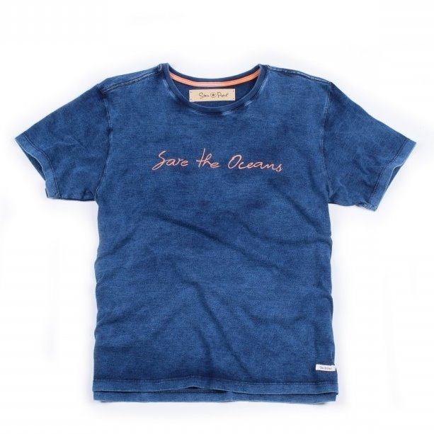 T-SHIRT SAVE THE OCEANS STARPOINT COLLECTION