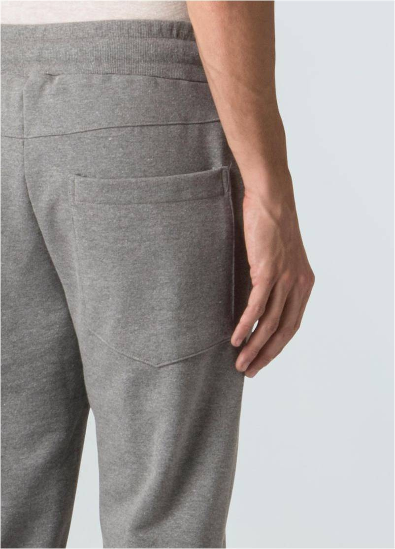 CALÇAS JOGGING FLEECE E-BASICS ASAP OSKLEN