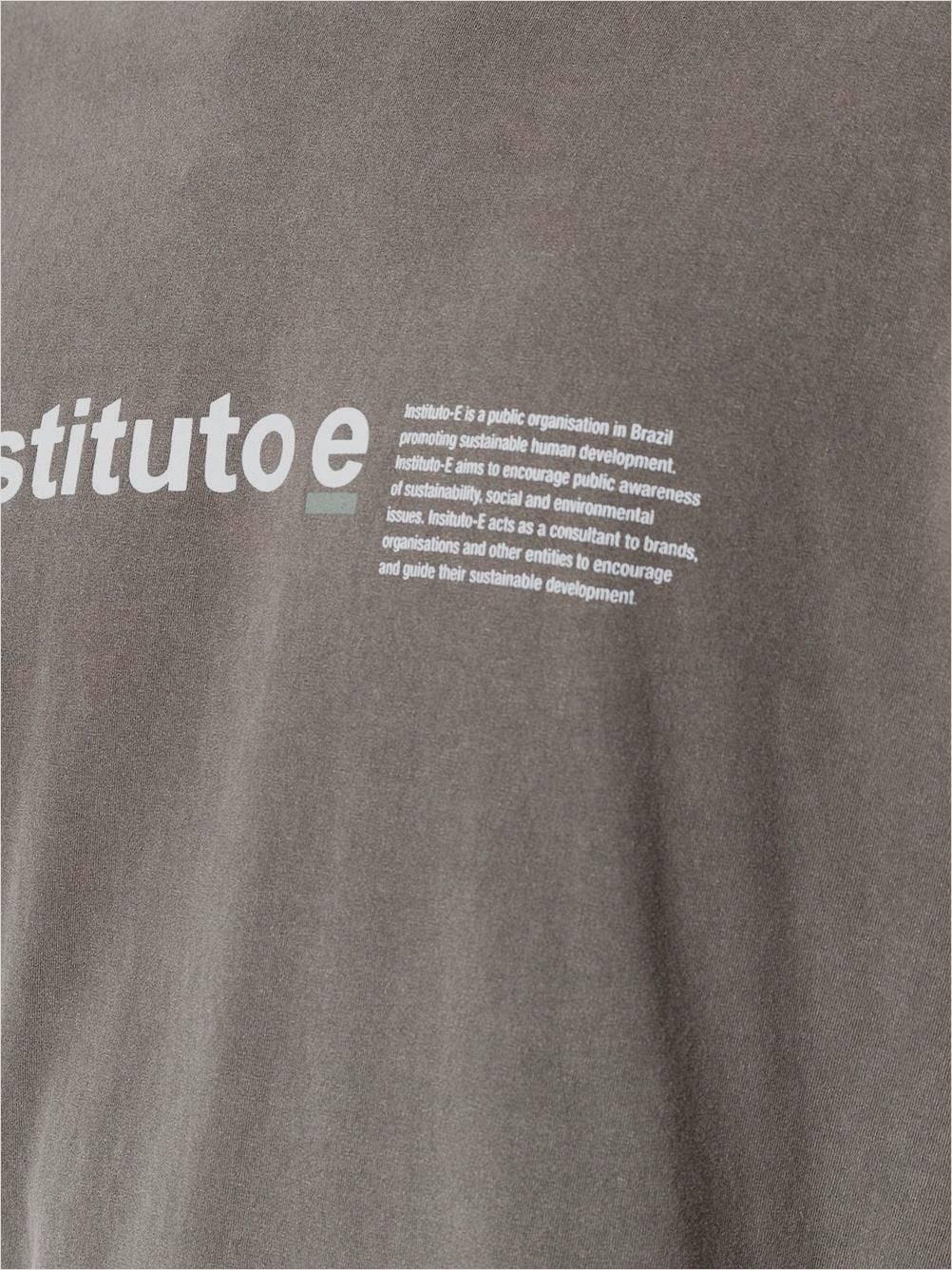 T-SHIRT STONE INSTITUTO-E OSKLEN