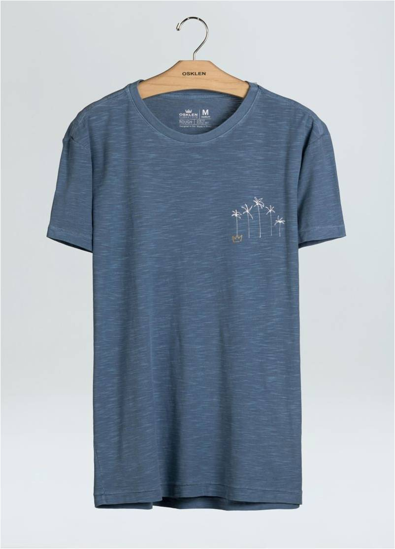 T-SHIRT ROUGH SKYLINE OSKLEN
