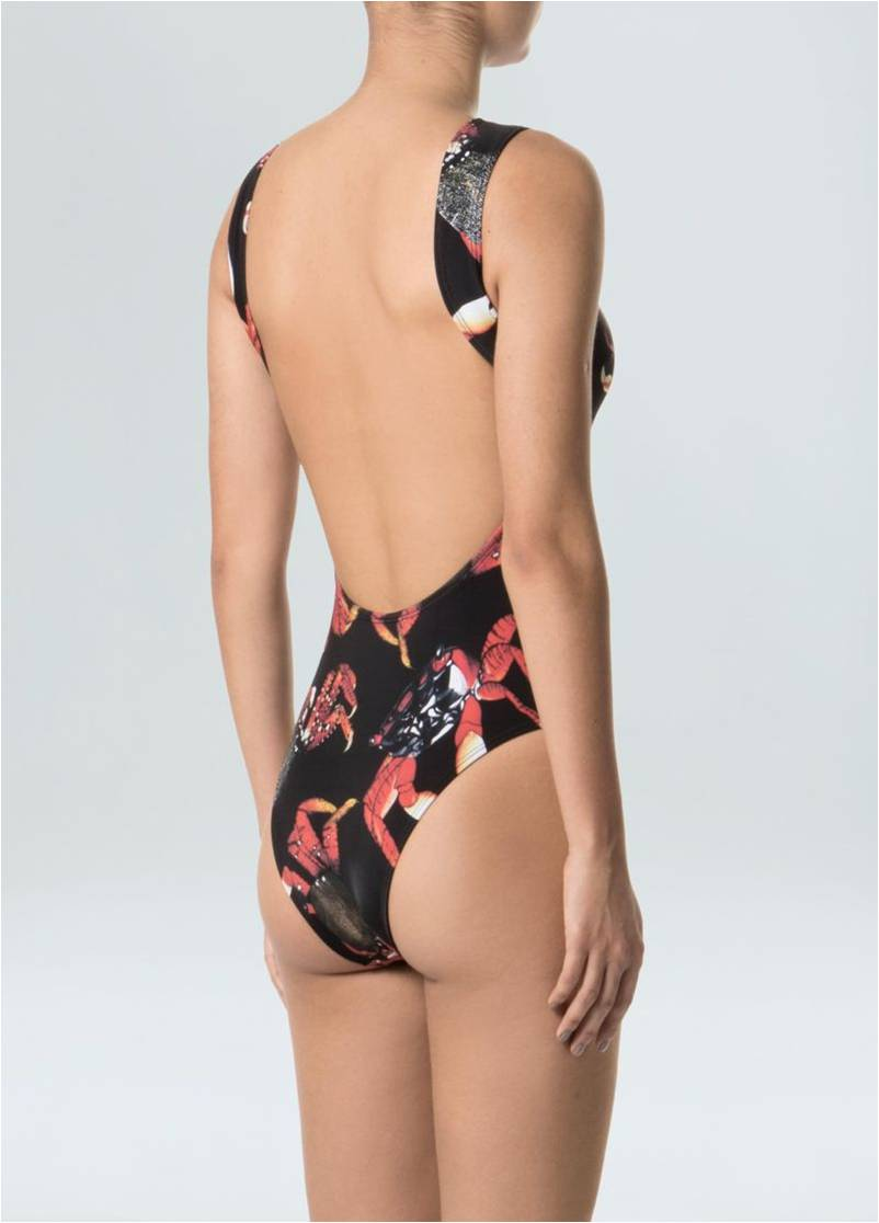 SWIMSUIT ARATU BLACK OSKLEN