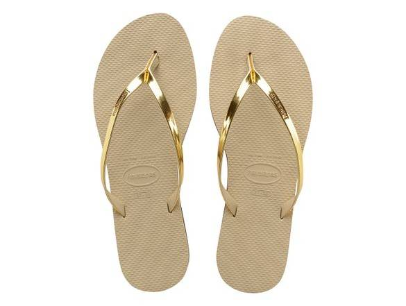 HAVAIANAS YOU METALLIC SAND GREY GOLDEN