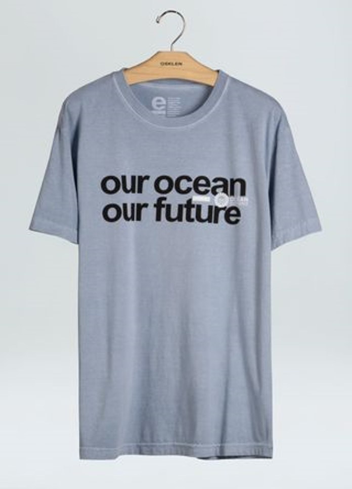 T-SHIRT STONE OUR OCEAN OUR FUTURE OSKLEN