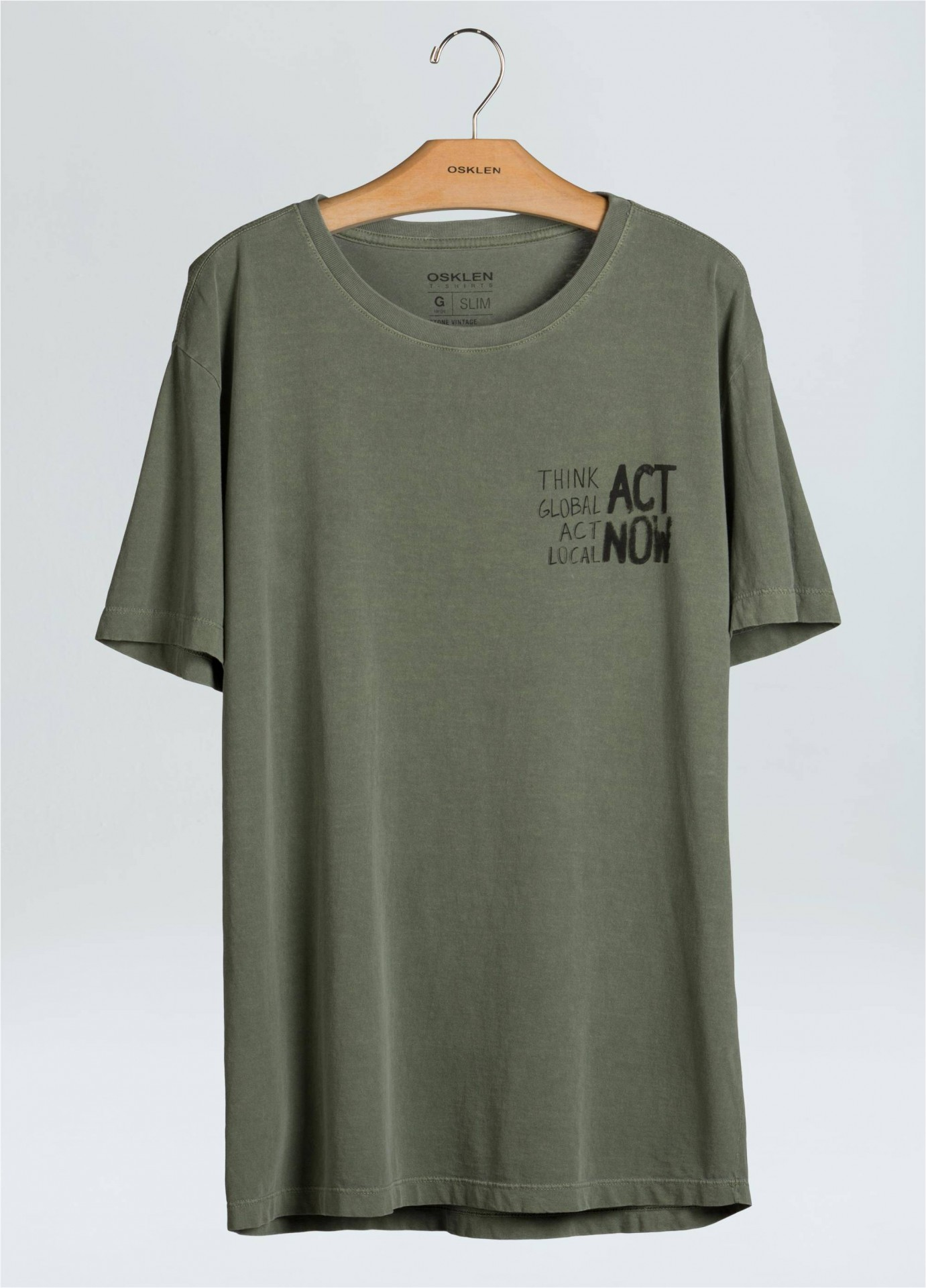 T-SHIRT STONE ACT NOW OSKLEN