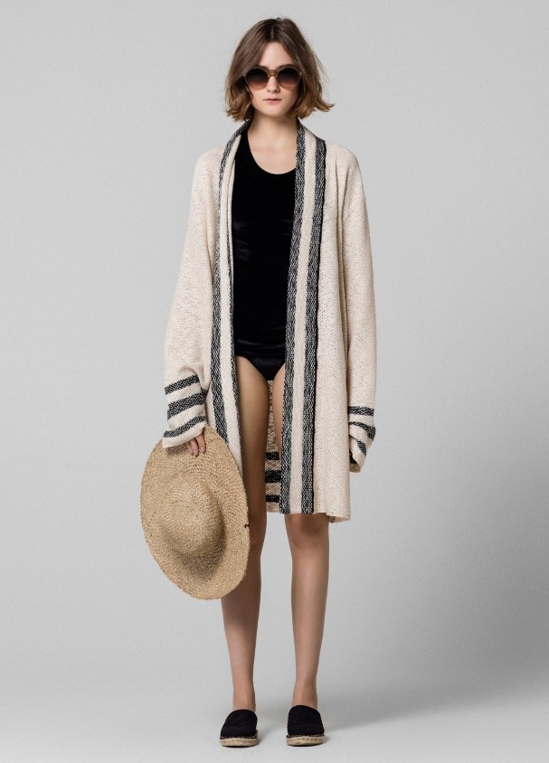 CARDIGAN TRICOT RUSTIC OVER OSKLEN