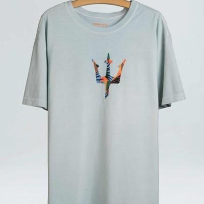 T-Shirt Stone Osklen Tropi Trident
