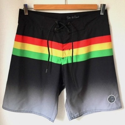 BOARDSHORTS RASTA STAR POINT COLLECTION