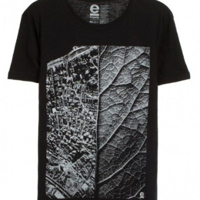 T-SHIRT ORGANIC ROUGH LIVING CITY OSKLEN