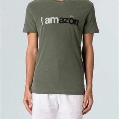 T-SHIRT ROUGH I AMAZON OSKLEN