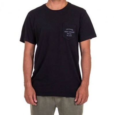 T-SHIRT POCKET FREE SPIRIT BLACK  MiG