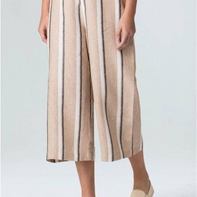 PANTALONA LINEN STRIPED JUTA