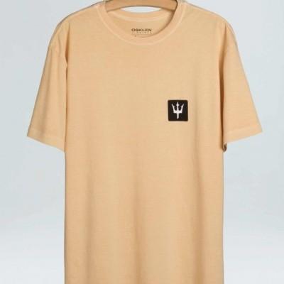 T-Shirt Masculina Osklen Stone Tridente