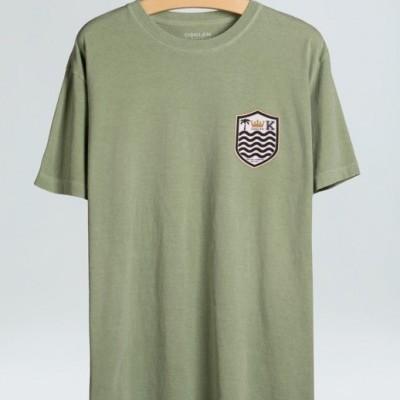 T-Shirt Stone Brasão Osklen